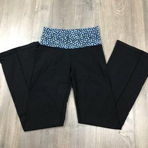 Lululemon Black & Purple Pants 6
